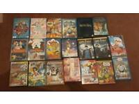 Dvds all different