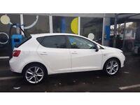 White Seat Ibiza 1.4l 2010 plate, brand new MOT