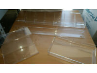 New & Used Slatwall Retail Display Acrylic SENSIBLE OFFERS INVITED
