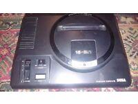 SEGA MEGA DRIVE BLACK CONSOLE PAL (Console Only)