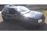 vw golf gti, 1.8 turbo 243bhp. stage 2 remap, load of work done, reliable car