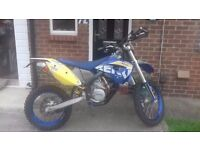 Husaberg 450 FE, LOW HOURS, 58 Plate.
