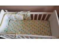 Baby cot bed Crib - mothercare lulworth crib