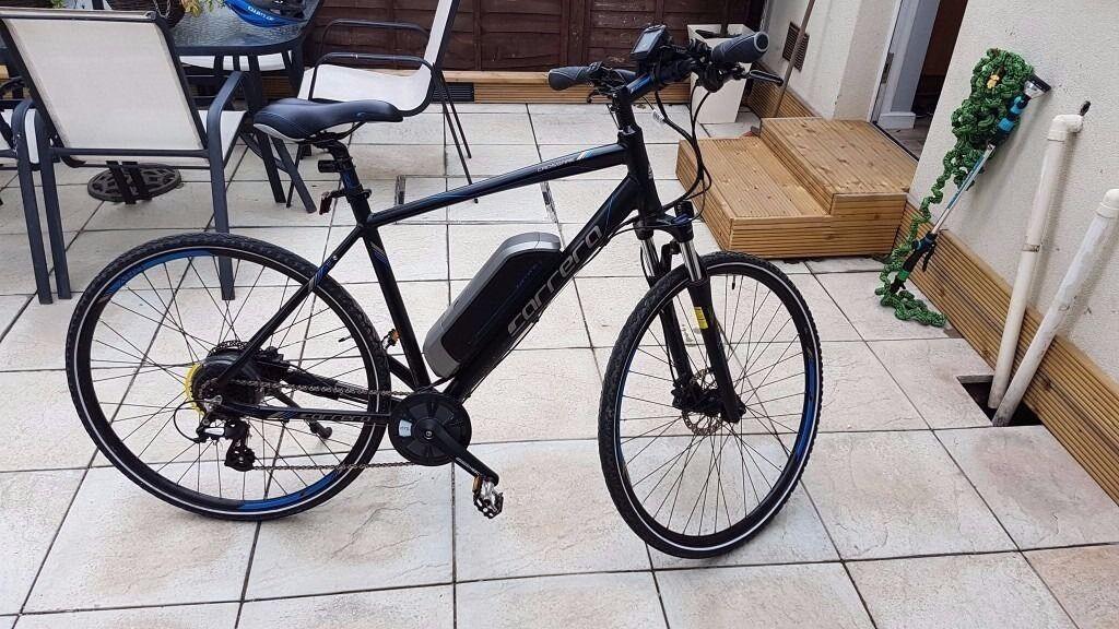 Carrera Crossfire E Men S Electric Bike Near New In Lennoxtown