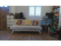 Cream sofa bed great condition, £40 ono