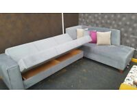 CORNER SOFA - SOFA BED- LSHAPE- BRAND NEW