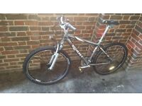 Giant Rock mountain bike, used, in very good condition. 17 frame/ 26 wheels/ 18 gears