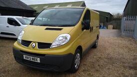Renault, TRAFIC, Panel Van, 2013, Manual, 1996 (cc)