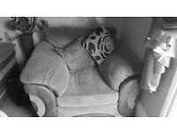 💥❤ big comfy chair 💥❤ grey