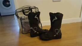 Touring bike boots size 7