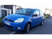 Ford Fiesta Zetec 1.4, 118k, Cheap and Reliable.