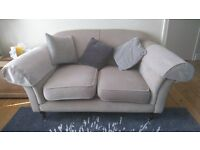 X 2 Two Seater Sofas For Sale