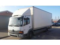 MERCEDES ATEGO 815 BOX TRUCK WITH TAIL LIFT FOR SALE