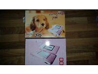 Nintendo DS nintendogs pak and 4 games