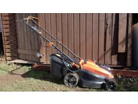 BLACK+DECKER Lithium-Ion Lawn Mower with Two 2 Ah Batteries, 36 V (Great condition, hardly used)