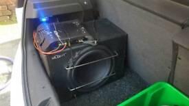 """Mutant 12"""" sub and 900watt mutant amp swaps for ps4"""