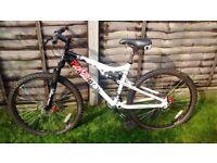 Mountain Bike Apollo Paradox, Full suspension, disc brakes