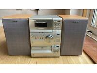 Sony CMT-CP1 Micro Hi-Fi Shelf Audio Stereo CD Player Cassette & AM/FM Radio