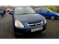 02 Honda Crv 2.0 Auto 5 DOOR Half Leather clean car 2Keys ( can be viewed inside Anytime