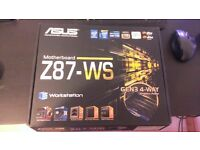Asus Workstation Motherboard i7 i5 DDR3