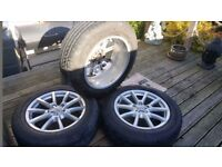 Audi Q5 18inch Alloy wheels and tyres