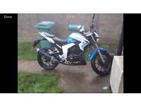 125cc lexmoto venom 2017 £1000 Ono