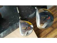 Taylormade r7 driver and r7 3 wood