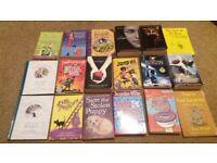 18 assorted children/teenage books