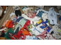 Big bundle of baby boys clothes 3-6 months