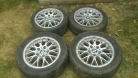 X4 alloy whells bmw+ one pirelli tyre