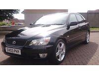 Lexus is200 Sport 03 reg, £1400