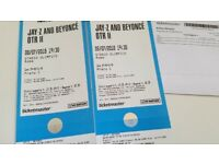 Jay-Z Beyonce ROME OLYMPIC STADIUM £250 pair SUN 8th July Pitch Floor Front of Stage Italy OTR Jayz
