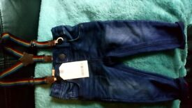 4 pairs baby jeans from next BNWT