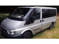 Ford Tourneo 2006 (55 plate) 1998 cc Diesel Silver - PARTS
