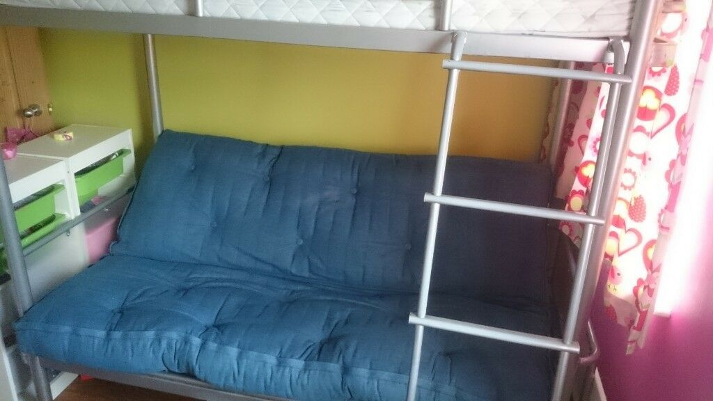 Triple High Sleeper Bunk Bed With Pull Out Double Futon In Newtownards County Down Gumtree