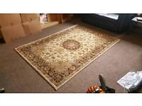 Large, traditional style rug.