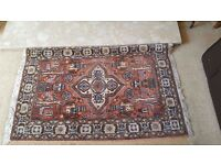 Small Turkish style rug
