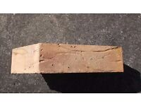 SQUINT CUT AND STUCK ANGLE BRICKS LARGE QUANTITY FREE FOR COLLECTION