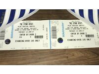 2 x Stone Roses tickets in Ireland 13th June £128. Hotel 12th-14th June £130