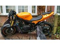 Reduced! Hyosung GT 125 PROJECT/ SPARE REPAIR. OPEN TO OFFERS! Need gone asap.