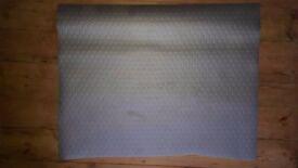Silver raised dots lino 0.75sqm