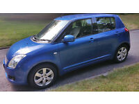 08 SUZUKI swift long MOT and service history ,new CLUTCH