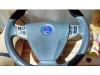Saab 9-3 Breaking - Parts - Steering Wheel with Airbag