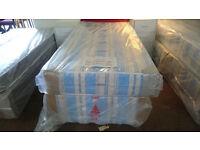 DUKE orthopaedic single bed base and mattress