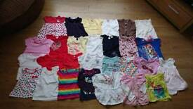 Girls baby clothes 9-12 months. 57 items
