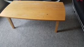 FREE: Brown Coffee table