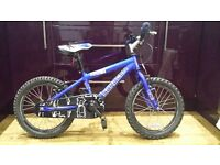 """Saracen childrens bike 16"""" with stabilisers ideal for age 3-6"""
