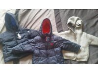 Boys 2/3 years winter jackets with few other bits
