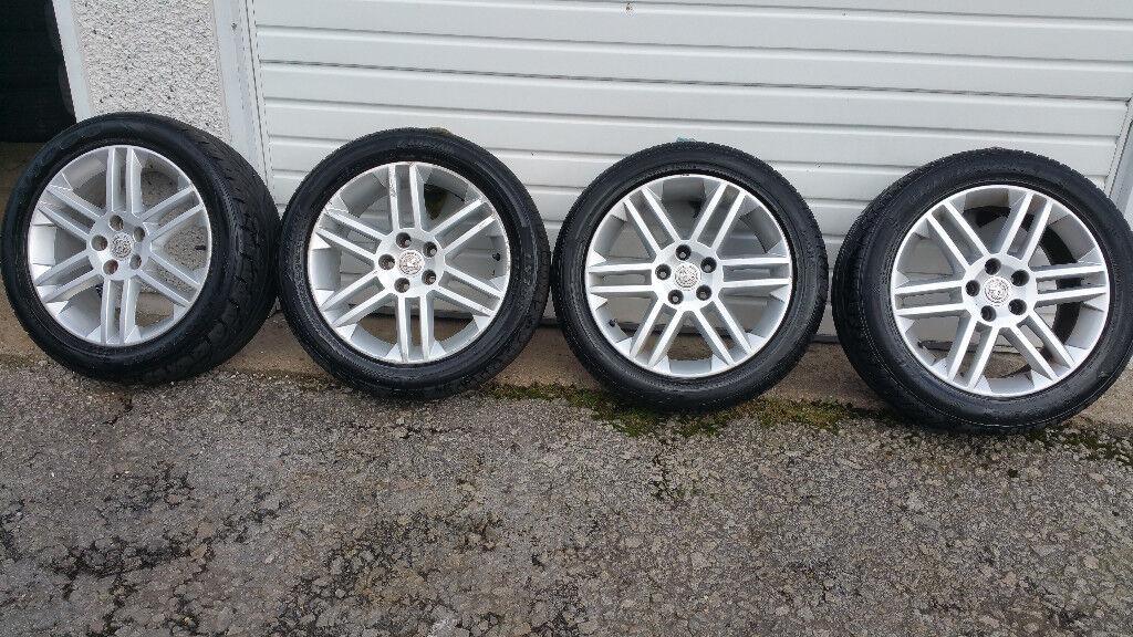 Vauxhall Genuine SRI 17 '' alloy wheels + 4 x tyres 215 50 17