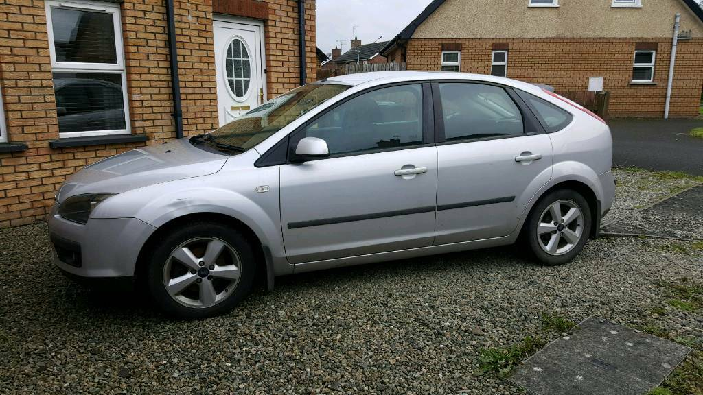 2005 silver ford focus 80k miles in ballymoney county antrim gumtree. Black Bedroom Furniture Sets. Home Design Ideas